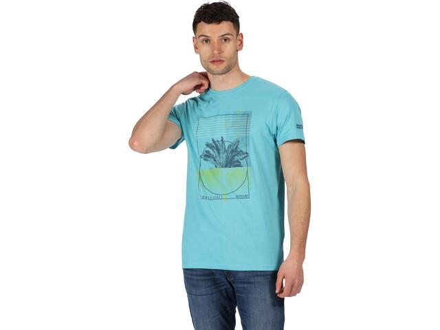 Regatta Cline IV Camiseta Hombre, maui blue